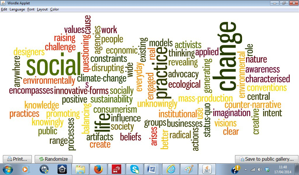 AFL Figure 1 design activism Wordle 180414