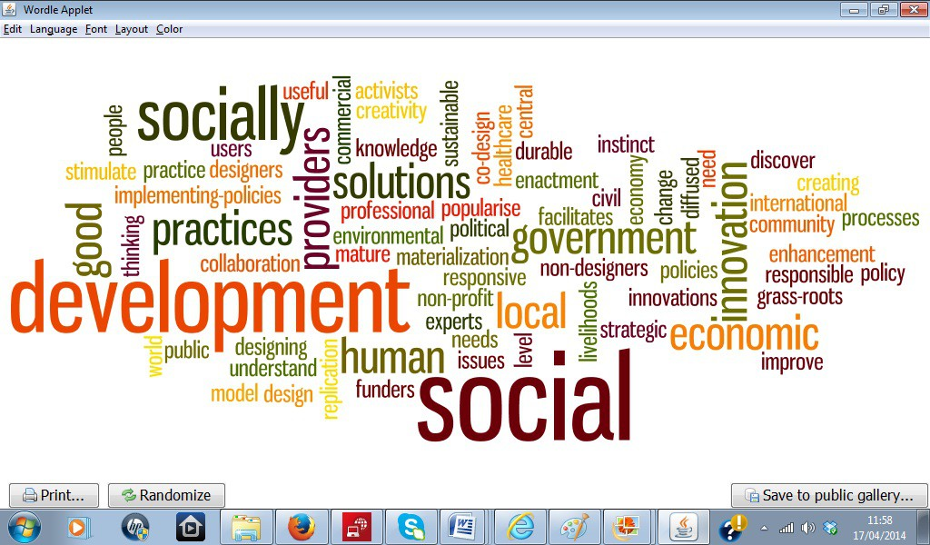 AFL Figure 2 Social design Wordle 180414